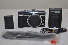 Olympus PEN E-PL1 12.3MP Digital Camera- Black (Body Only) Low Shutter Count 767
