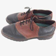 H.S. Trask Authentic Bison Saddle shoes Men's 11M