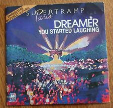 Supertramp, dreamer / you started laughing, SP - 45 tours