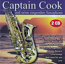 CAPTAIN COOK UND SEINE SINGENDEN SAXOPHONE / 2 CD-SET (WELTBILD MUSIC 701297)