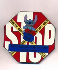 Disney WDW Stitch Jumbo Stop Sign Route 498 Event LE 500