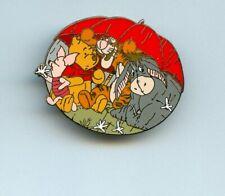 Disney Winnie the Pooh Seasons Eeyore Tigger Piglet Spring Umbrella Pin