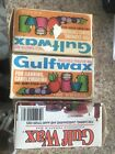 2.5Lb Vintage Gulfwax Household Paraffin Wax Box Canning Candlemaking Jam Jellie