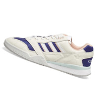 ADIDAS MENS Shoes A.R. Trainer - Off White & Purple - EF1628