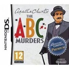 Agatha Christie The ABC Murders Nintendo DS 12 Adventure Game