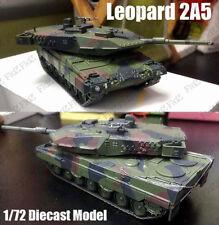 German MBT Leopard 2 A5 Green Camouflage 1:72 diecast tank Dea model