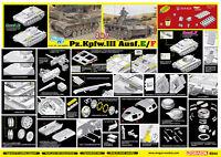 DRAGON 6944 1/35 '39-'45 Series Pz.Kpfw.III Ausf.E/F 2 in 1 Smart Kit