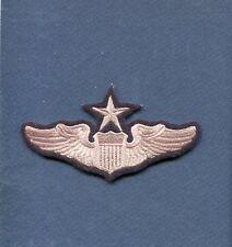 "USAF AIR FORCE SENIOR PILOT WING 4 1/2"" Hat Jacket Squadron Patch"