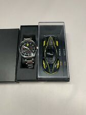 Suderia Ferrari Men's Watch Special Edition Speedracer gift set with Car NWT