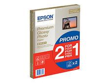 Epson Premium Glossy Photo Paper BOGOF A4 210x297 C13S042169