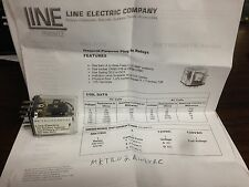 Line Electric MKTRO2A48VAC 2 Form C Gen Purpose Plug in Relay 10 Amp Contacts