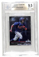 2017 Bowman Chrome Mini #BCP127 Ronald Acuna Jr rookie card BGS 9.5 Braves