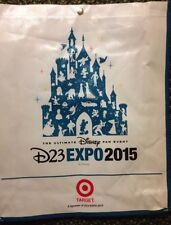 Disney D23 Expo Official Tote Bag 2015 Mickey Strap Exclusive 60th