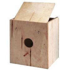 Nido de madera de pino para ninfas fabricado artesanalmente.