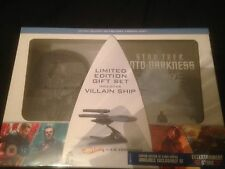 STAR TREK INTO DARKNESS LIMITED EDITION 3D BLU RAY GIFT SET **NEW & SEALED**