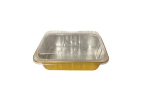 221/1400 Aluminum Foil Bakery Tray Togo Hot and Cold food Containers with Lid