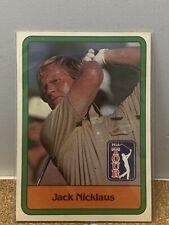 1981 Donruss Golf Jack Nicklaus RC Rookie Card #13