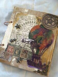 Handmade Junk Journal Travel