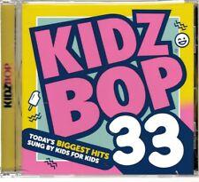 Kidz Bop Vol. 33 (CD) 2016 Sit Still Look Pretty Rise Ride AOB