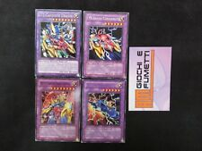 LOTTO 4 carte FUSIONE XYZWV in italiano ORIGINALI YU-GI-OH!