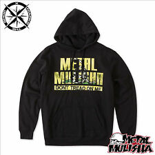 "Metal Mulisha ""no Tread on Me"" para hombre con capucha Sudadera Polar Grande Rrp £ 49"