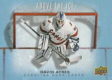 19-20 Upper Deck - David Ayres Rc OVERSIZED ABOVE THE ICE Rookie 5x7 DA