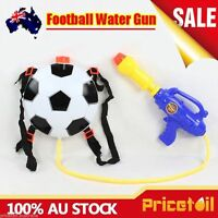 OZ Football Kids Water Gun Powerful Pistol Squirt Gun Backpack Toy High Volume