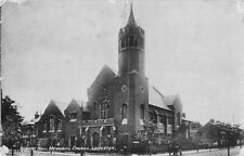 More details for robert hall memorial church leicester vintage postcard 1922.