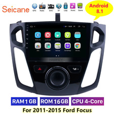 "GPS Navigation 9"" Android 8.1 Car Radio for 2011-2015 Ford Focus with WIFI"