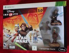 Star Wars Disney InfInity 3.0 XBOX 360 VIDEO GAME Figures Box Starter Pack  NEW!
