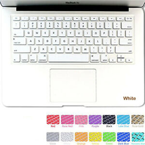 """Silicone Keyboard Skin Cover For Apple Macbook Pro 13"""" 15"""" Retina Air 11"""""""