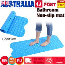 100x40cm Kid Children Anti Non-Slip PVC Sucker Bathtub Bathroom Shower Mat Pad
