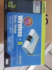 Linksys WMB54G Wireless-G Music Bridge Cisco Wi-Fi  (NEW)