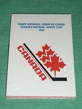 1983 Canadian UNOPENED SET Mario LEMIEUX / Steve YZERMAN RC's National Junior
