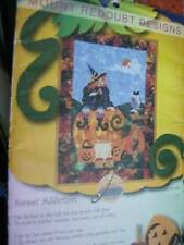 Sweet Addiction, Mount Redoubt Uncut Quilt Sewing PATTERN- 29x40 Inches, Witch O