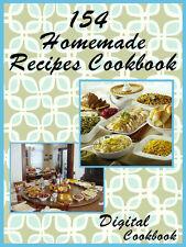 154 Delicious Homemade Recipes E-Book Cookbook CD ROM