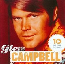 """GLEN CAMPBELL, CD """"10 GREAT SONGS"""" NEW SEALED"""