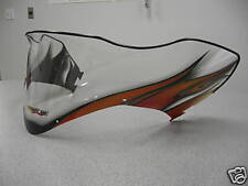 ARCTIC CAT FIRECAT/SABERCAT LOW RED FLAME WINDSHIELD