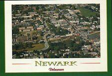 Aerial View Newark Delaware Home of University of DE Fighting Blue Hens Postcard