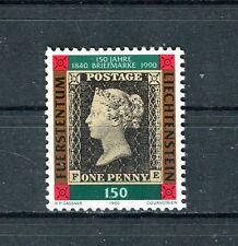 Liechtenstein 1990 150 anniversario primo francobollo MNH
