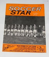 SOCCER STAR MAGAZINE JUNE 9TH 1962 - BULGARIA TEAM GROUP
