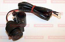 """12V Steckdose Lenkerschalter QUAD  ATV Motorrad baggy Lenker 22mm und 1call (1"""")"""