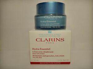 CLARINS Hydra-Essentiel Moisturizer for Dry Skin - 1.8 oz