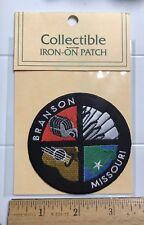 NIP Branson Missouri MO Country Music Souvenir Embroidered Patch