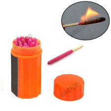 20PCS Waterproof Windproof Matches Outdoor Emergency Survival Tool act