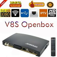 Openbox V8S Portable Satellite Receiver DVB Tv Decoder Suppor 3G USB Wifi Dongle