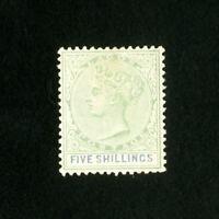 Lagos Stamps # 6 VF Unused Catalog Value $150.00