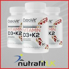 OSTROVIT VITAMIN D3 + K2 vit MK-7 bones immune system calcium absorption