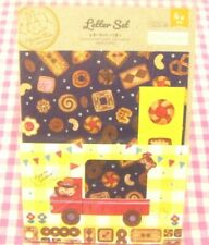 Bear Cookie Letter Set / Japan DAISO Stationery