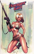 Danger Girl Revolver 1 J Scott Campbell Abbey Army Color Variant IDW Limited 500